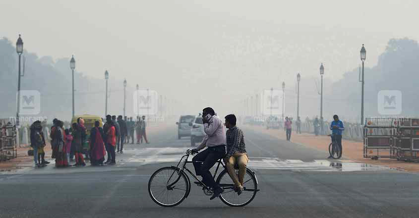 Air pollution in Delhi worsens to 'severe' category