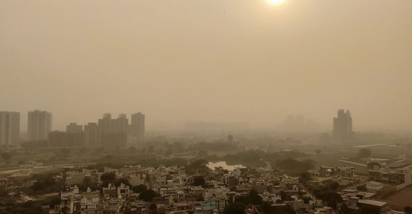 Delhi's air quality dips to severe level