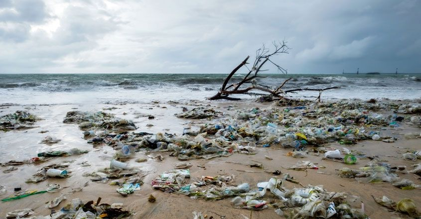 Remote Island Chains Is Drowning In A Sea Of Plastic