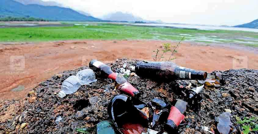 Malampuzha River pollution