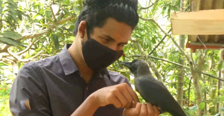 Unique Friendship with Crow - Meet Arun Krishna and family