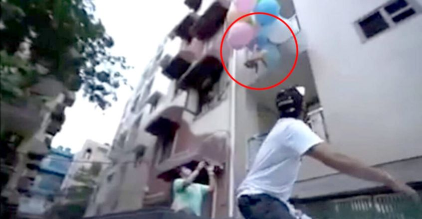 Delhi YouTuber makes pet dog fly using balloons in video, arrested for animal cruelty