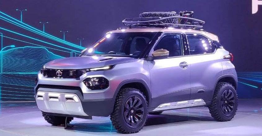 Tata HBX micro SUV concept revealed at Auto Expo 2020