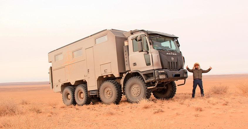 truck-in-mongolia