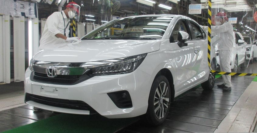 new-honda-city-production-begins-in-India
