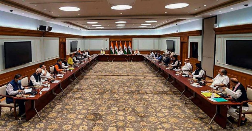 all-party-meeting-with-various-political-leaders-from-Jammu-and-Kashmir.-PTI02