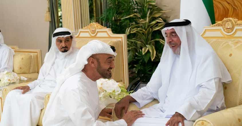 رئيس الدولة يتقبل التهاني من حكام دولة الإمارات وأولياء العهود ونواب الحكام بشهر رمضان المبارك.