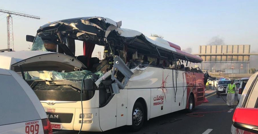 Dubai-bus-accident