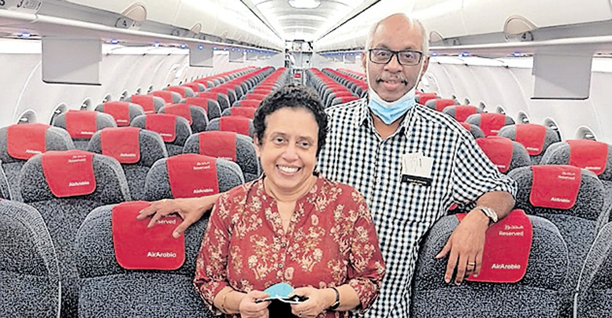Investor visa aided;  Malayalee couple arrives in UAE    Travel Ban    Golden Visa