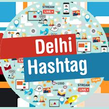 Delhi Hashtag