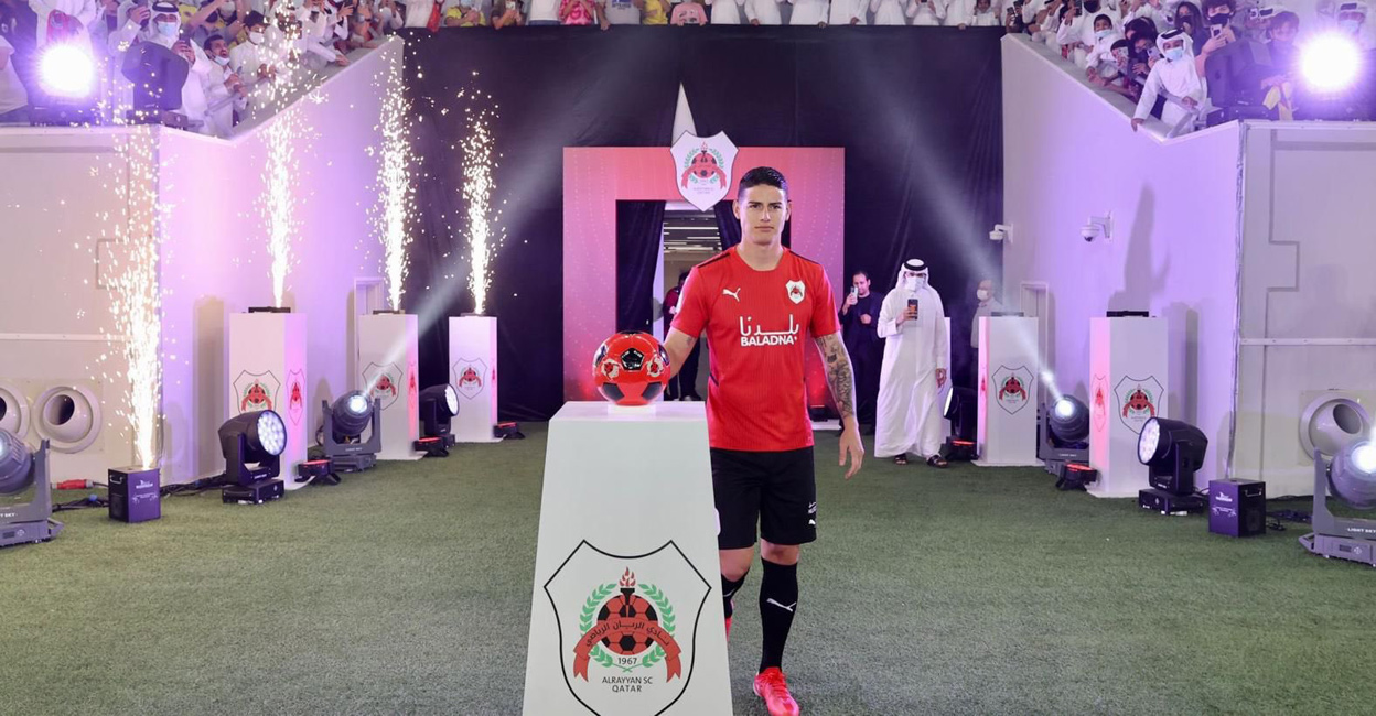 James Rodriguez will now be the button for Al Rayyan - Newsdir3