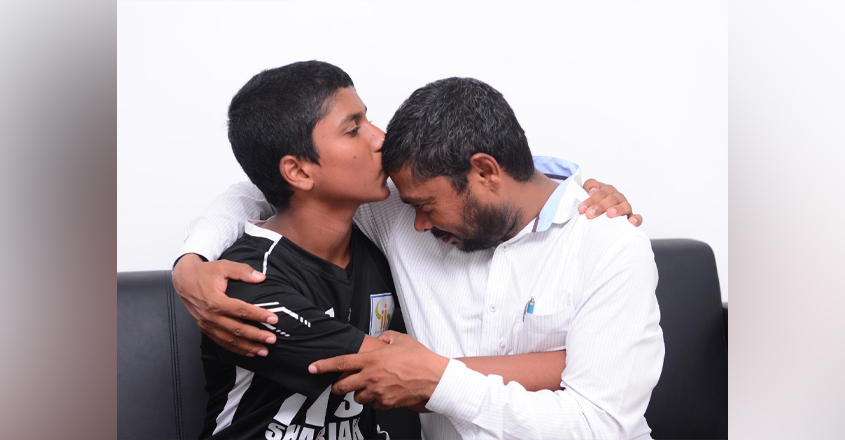 indian-boy-with-father