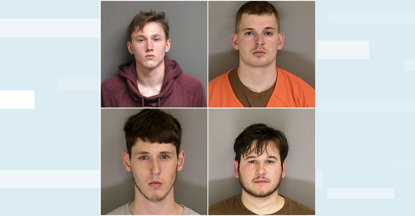 four-suspects