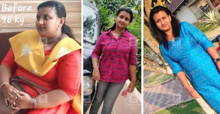 riya kuriakose weight loss
