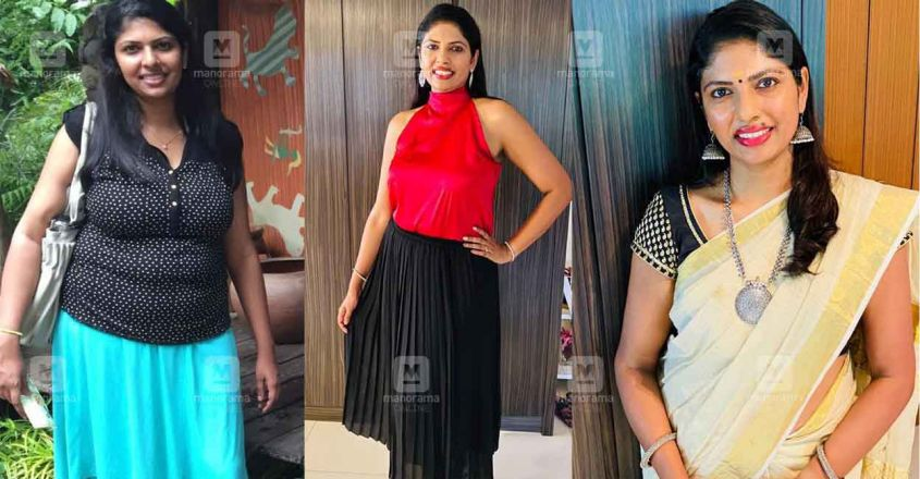 shruthy chacko weight loss