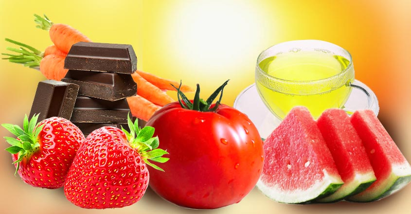 sunburn-foods