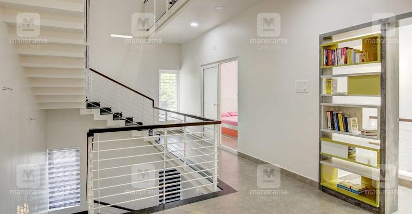 minimal-house-panayikulam-stairs