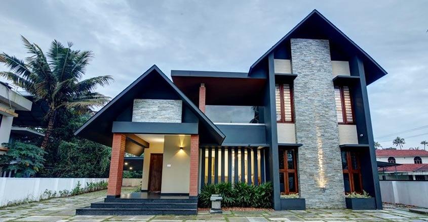 tropical-house-paravur-elevation