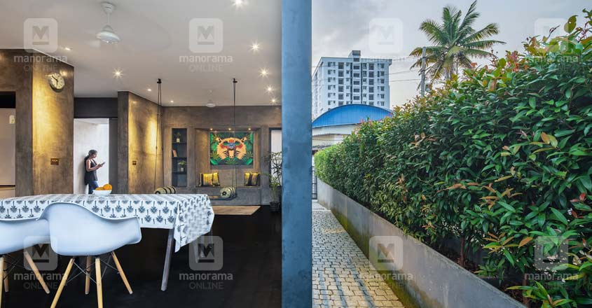 architect-own-house-kochi-dine