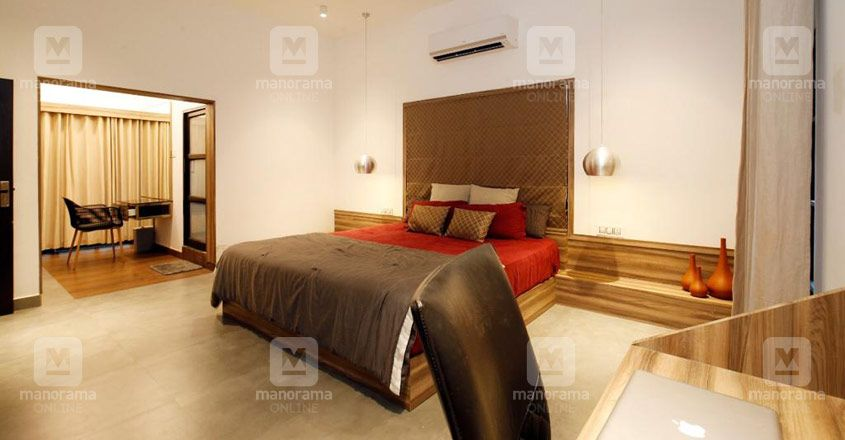 architect-own-house-25-lakhs-bedroom