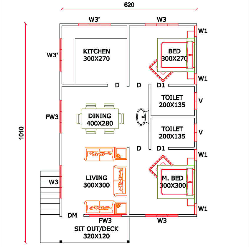Fibre-Board-house-plan