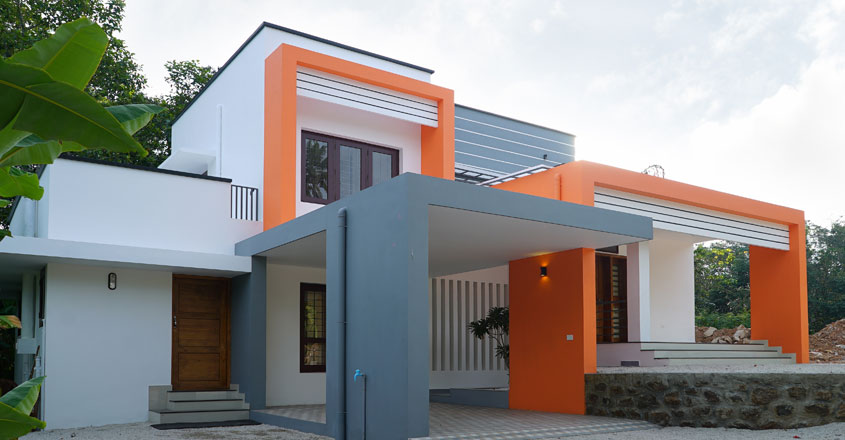 minimal-house-kollam-side