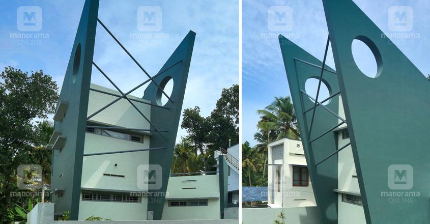 spiral-house-kazhakootam-exterior