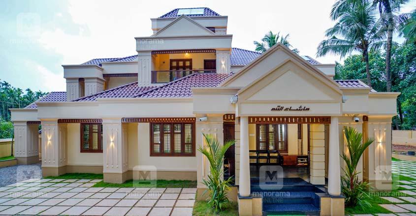 colonial-house-malappuram-elevation