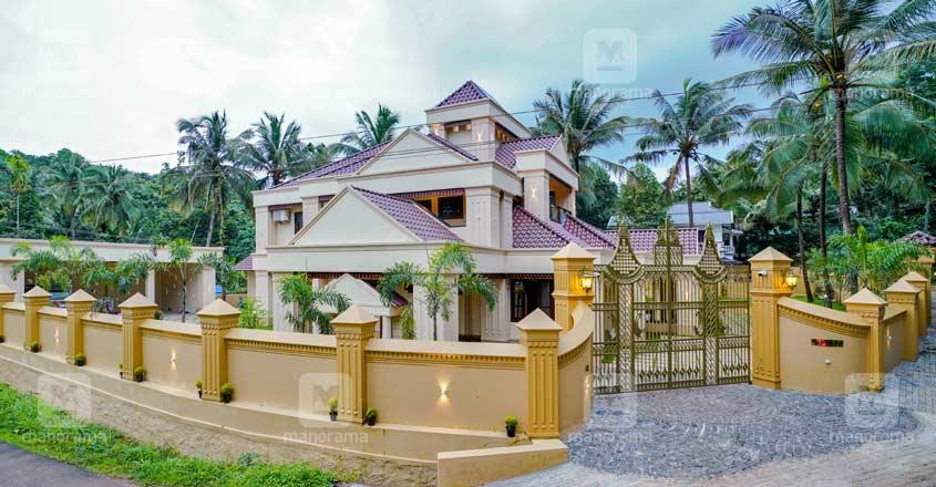 colonial-house-malappuram-exterior