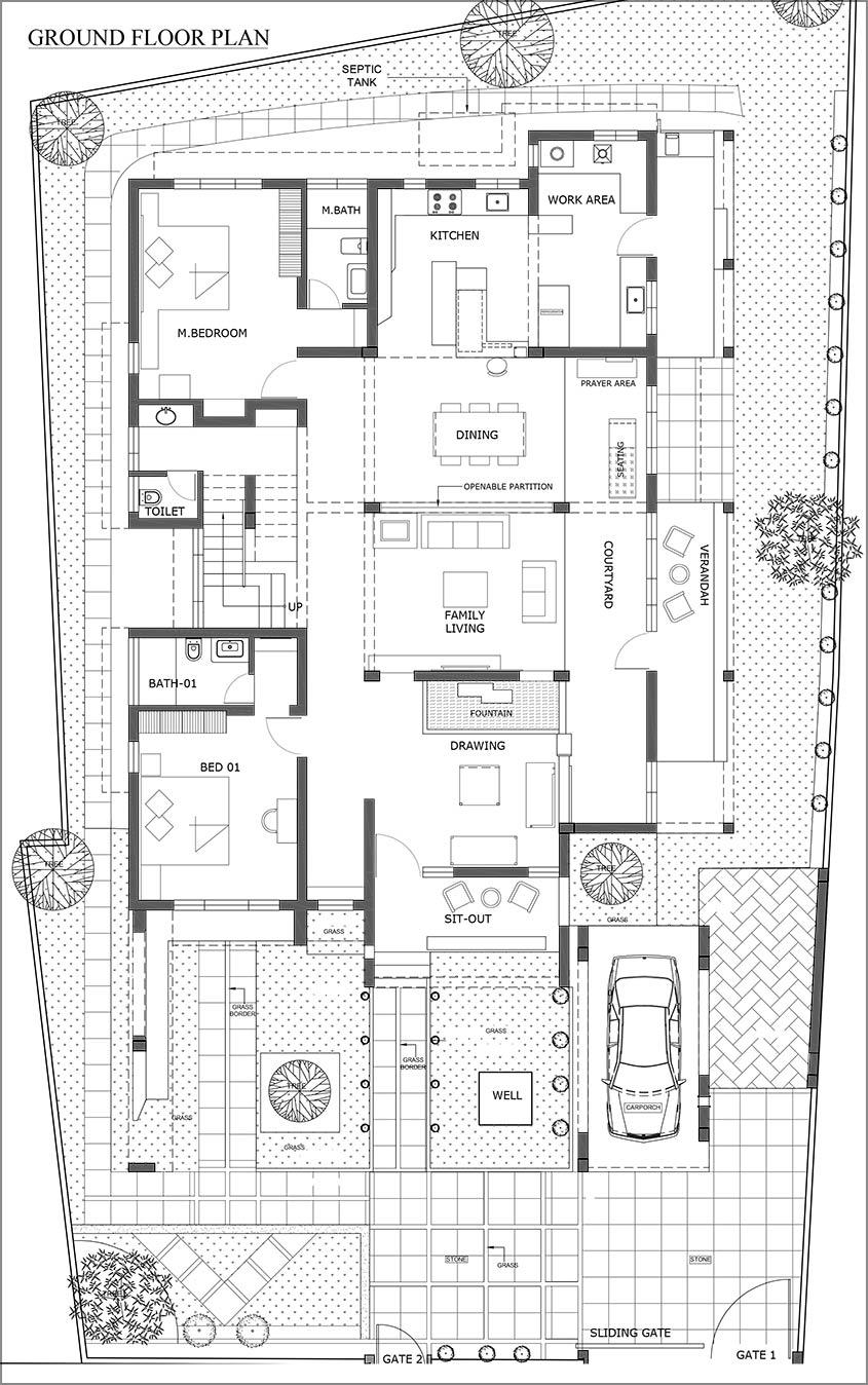 Z:\DENS Studio\Shiju KZRY\DOCS\For Magazine\Shiju KZRY- Floor Plan R1 100 160517 Model (1)