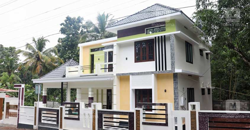 fusion-house-chengannur-side-view