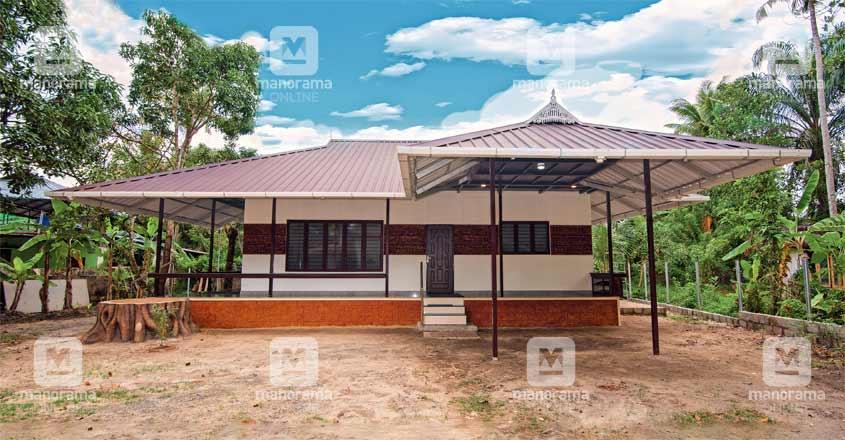 13-lakh-house-harippad-elevation
