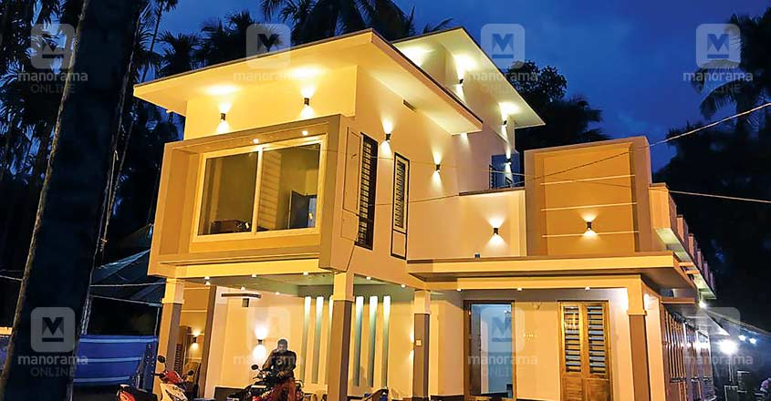 25-lakh-home-malapuram-night