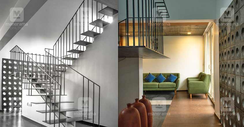 minimal-house-nilambur-stair