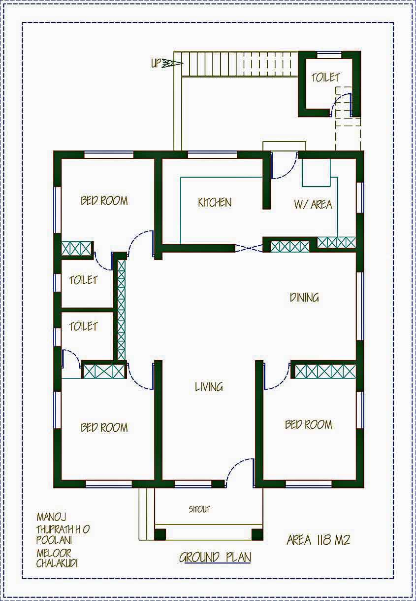 14-lakh-house-chalakudi-plan