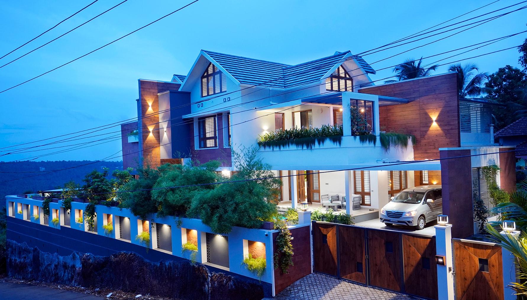 green-home-malappuram-night