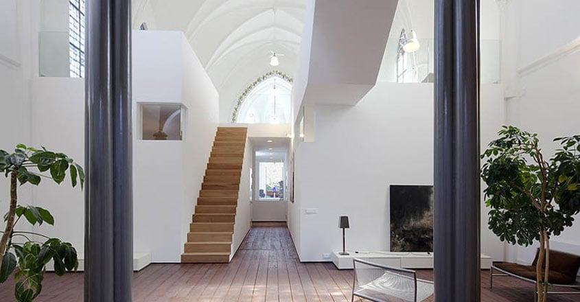 church-residence-stair