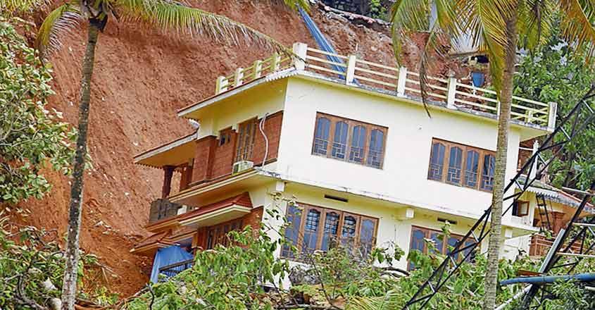 house-landslided