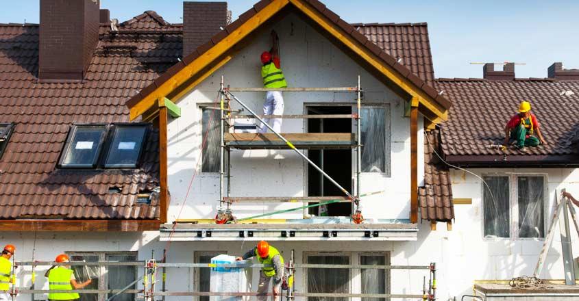 plastering-house