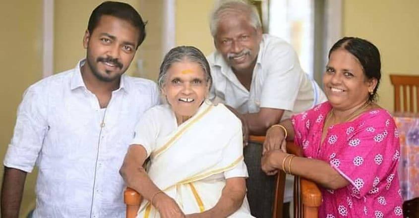 vishnu-unnikrishnan-family