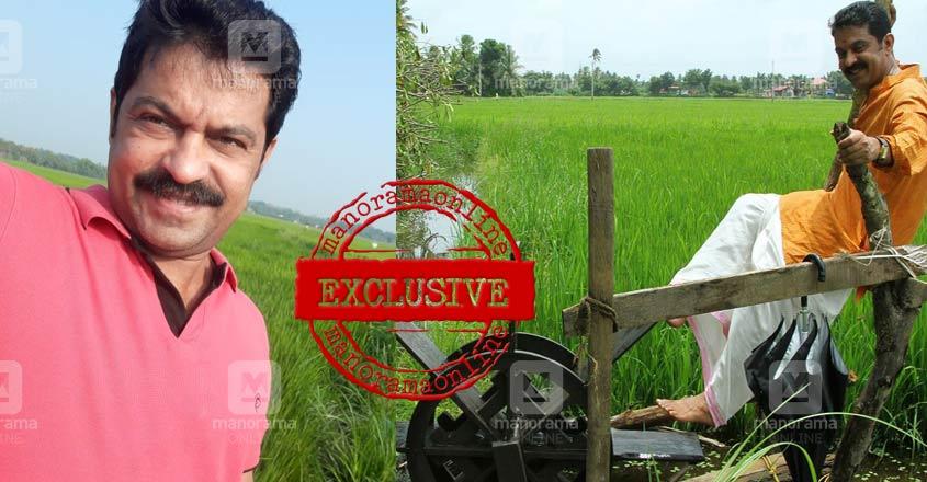 krishnaprasad-actor-farming