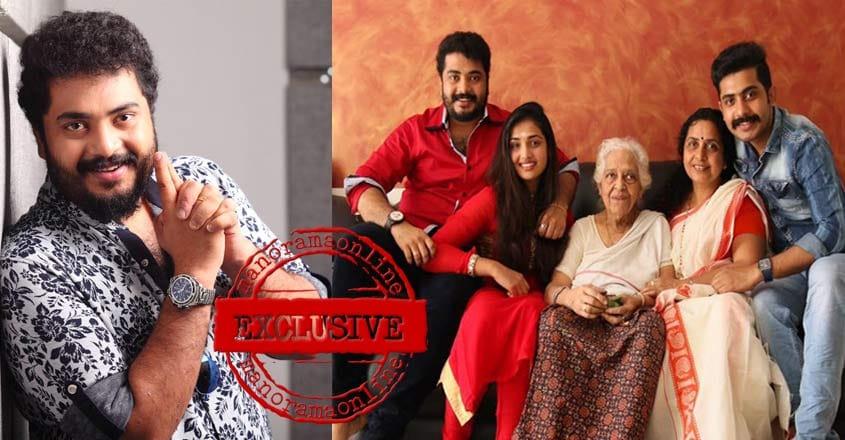 vinu-mohan-home-family
