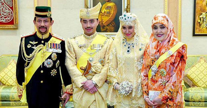 brunei-sulthan-family