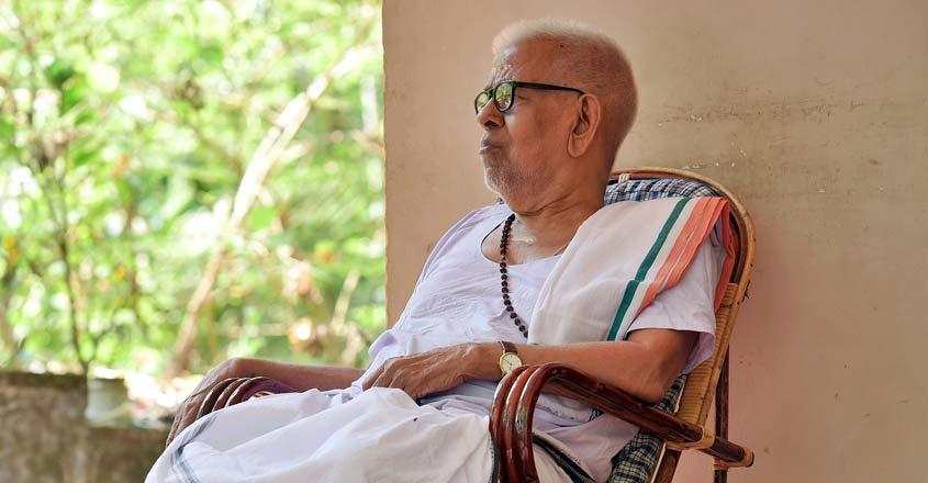 93-year-old-malayalam-poet-akkitham-won-the-jnanpith-award