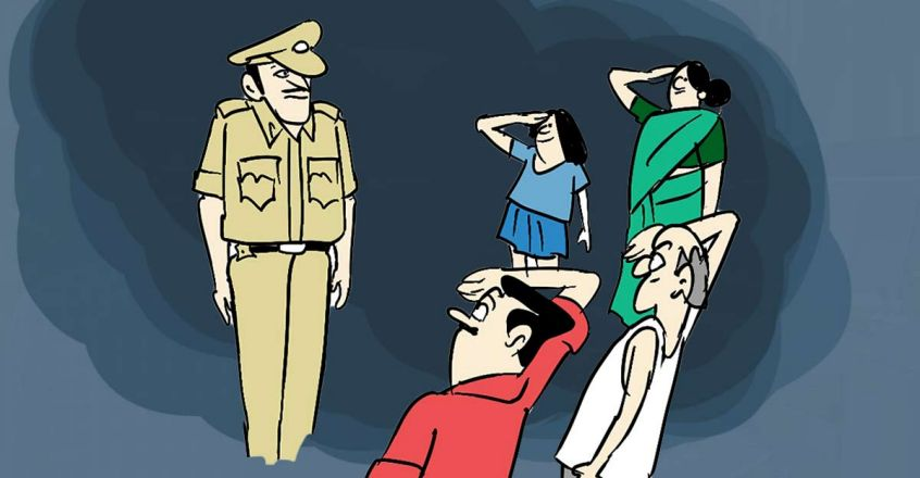 kerala-police-disown-cop-s-gesture-to-thank-locals-who-helped-in-kozhikode-cash