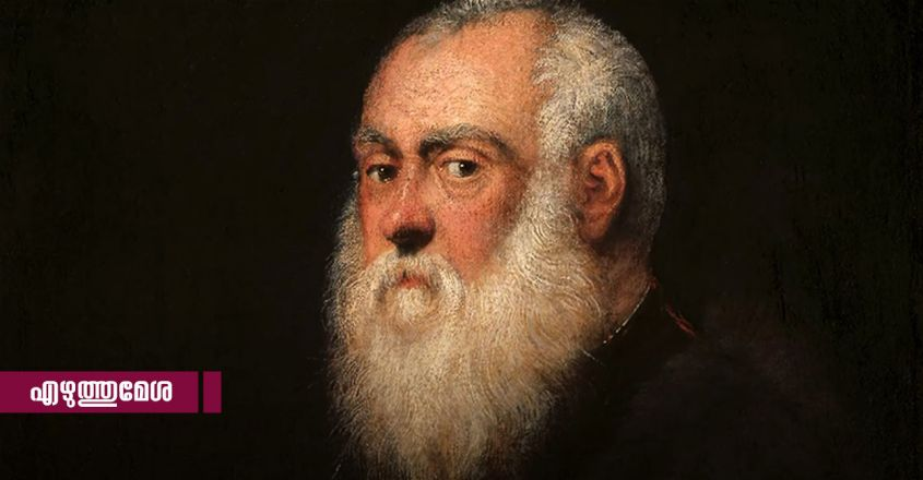 The Man with a White Beard by Tintoretto