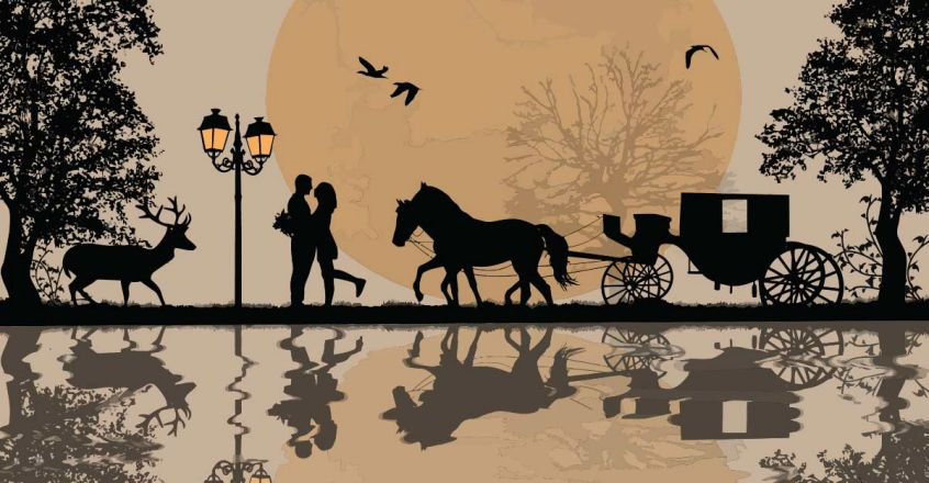 lovers-in-carriage