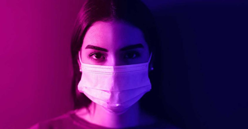 young-woman-wearing-medical-mask