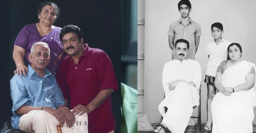 mohanlal-father