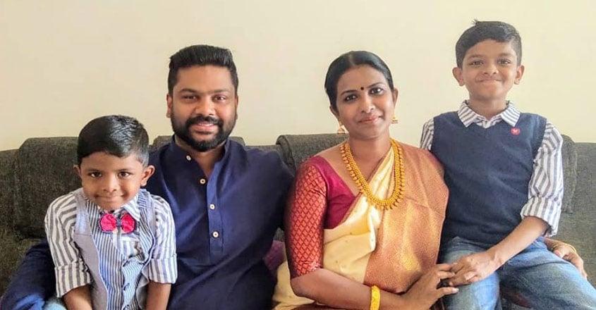Bineetha-Family